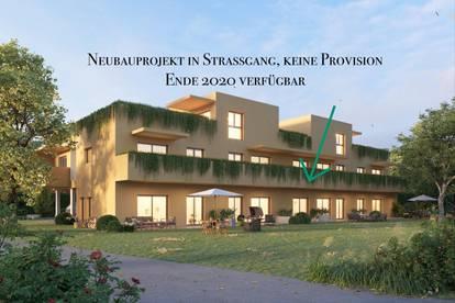 RESERVIERT! Prov-frei in Straßgang 30 m2 UND Garten! Ende 2020 beziehbar! Top 2
