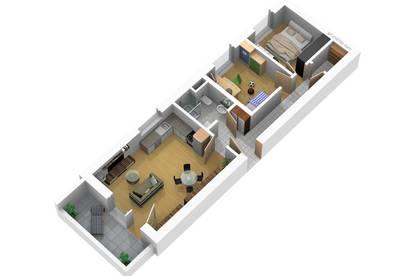 Straßgang West-Balkon mit 3 Zimmer! Ende 2020 beziehbar! Prov-frei Top 6