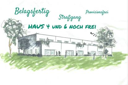 Reihenhaus Straßgang - Rohbau fertig - BELAGSFERTIG - Prov.-Frei - H4