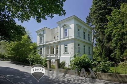 Großzügige Mietwohnung in einer generalsanierten Villa mit Garten!
