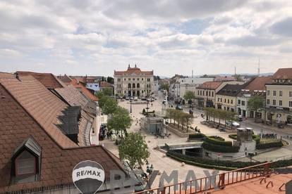 <b>&quot;Exklusives Wohnen DIREKT am Tullner Hauptplatz mit GARTEN - über den Dächern Tulln´s!&quot;</b>