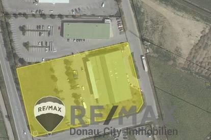 """""""Geschäftslokal mit einer Größe von ca. 339,82 m² samt dazugehörigen Parkplätzen in Hollabrunn!"""""""