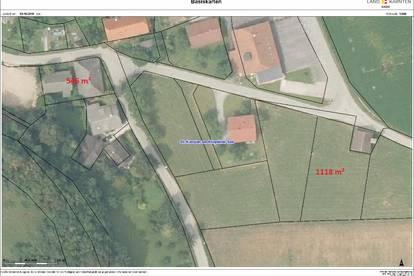 Baugrundstück in Stein im Jauntal mit 546 m² - keine Bebauungsverpflichtung