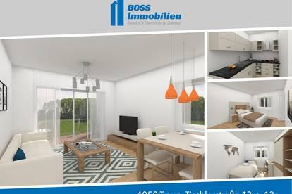 Baubeginn erfolgt   Hochwertige 2 Zimmerwohnung mit Garten - Tischlerstraße 13, Traun