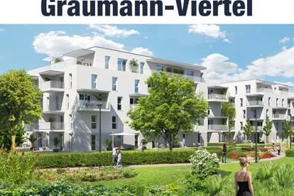 Urban Wohnen, Grün genießen: Das Graumann-Viertel | Top 1.1.3-4