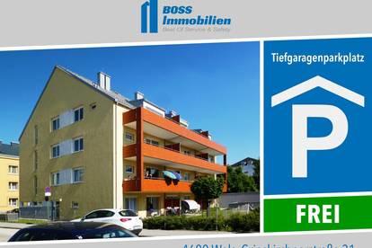 Tiefgaragenplätze | Grieskirchner Str. 31, 4600 Wels