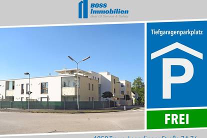 Tiefgaragenplätze | Leondingerstraße 74-76, 4050 Traun