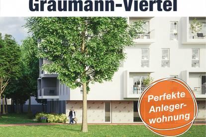 Graumann-Viertel in Traun - Anlegerwohnung mit Wertsteigerung | Top 3.2.8