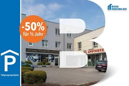 AKTION: -50% für ein halbes Jahr!! Tiefgaragenplatz   Leonfeldnerstraße 133, 4040 Linz