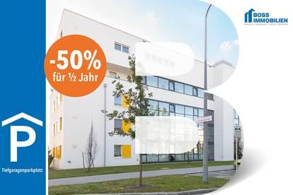 AKTION: -50% für ein halbes Jahr!! Tiefgaragenplatz | Binderlandweg 10, 4030 Linz