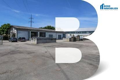 Logistik / Lagerfläche – 1600 m² asphaltierte Freifläche
