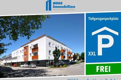 XXL Tiefgragenplatz (19,2 m²) | Tischlerstraße 2-4, 4050 Traun