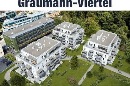 Grünes Wohnen mitten im Zentrum: Ihr Penthouse im Graumann-Viertel | Top 3.4.5