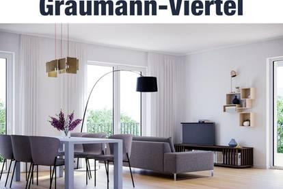 Wohnqualität im Herzen von Traun - das Graumann-Viertel | Top 3.3.2