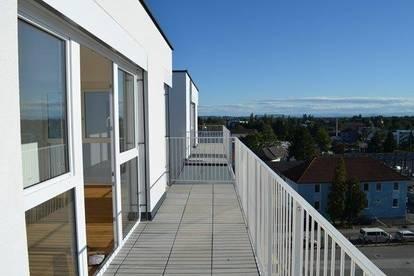 Liebenau - 128 m² - PENTHOUSE - Maisonette mit 60 m² Dachterrasse - herrlicher Ausblick