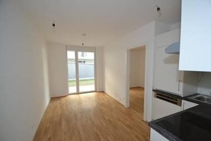 Neubau - Zentrum/Annenviertel - 35m² - 2 Zimmer - Terrassenwohnung mit Gartenanteil