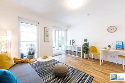 ERSTBEZUG - Brauquartier - Puntigam - 32m² - 1 Zimmer mit Loggia - Dachgarten