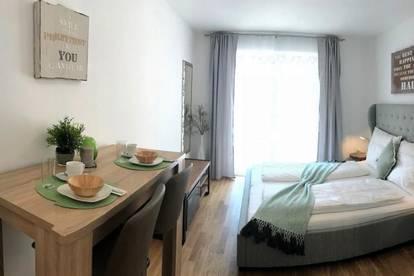 Puntigam - Brauquartier - 24m² - 1 Zimmer - vollmöbliertes Singleappartement