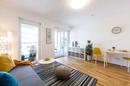 ERSTBEZUG - Brauquartier - Puntigam - 23m² - 1 Zimmer Wohnung - 9 m² Loggia