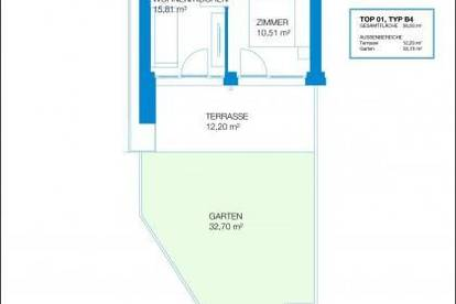 COPACABANA - Erstbezug - 35m² - 2 Zimmer - große Terrasse - Eigengarten - privater Seezugang - inkl. Parkplatz