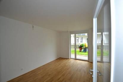 Neubau - Zentrum/Annenviertel - 35m² - 2 Zimmer - Gartenwohnung mit Terrasse