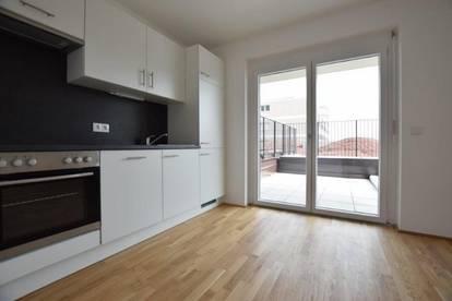 Puntigam - Brauquartier - 59m² - 3 Zimmer Wohnung - WG-fähig - großer Balkon