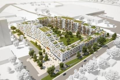 Straßgang - Erstbezug - Quartier 4 - 61m² - 3 Zimmer - große Dachterrasse und Balkon - ink. TG Platz