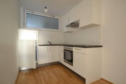 Neubau - Liebenau - 47m² - 2 Zimmer Wohnung - 13m² Westbalkon - helle Pärchenwohnung
