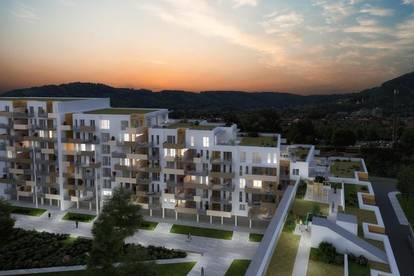 Straßgang - Erstbezug - Quartier 4 - 40m² - 2 Zimmer - großer Balkon und Loggia - tolle Infrastruktur