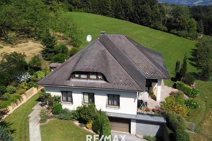 Schönes Wohnhaus in ruhiger Aussichtslage !
