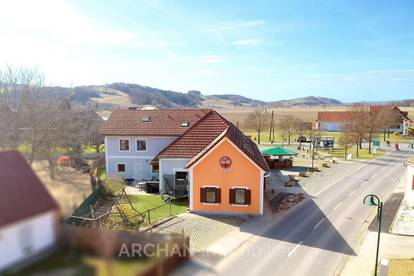 Gillersdorf bei Bad Loipersdorf: Mehrfamilienhaus mit großem Garten und vielen Nutzungsmöglichkeiten