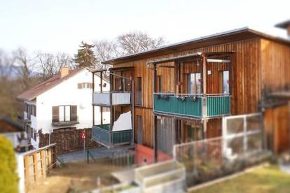 Perfekte 2-Zimmer-Wohnung mit Balkon in moderner, ökologischer Bauweise