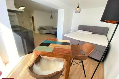 Liezen! Coole kleine Citywohnung mit sensationeller 56 m2 Sonnenterasse