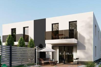 Moderne Doppelhaushälften