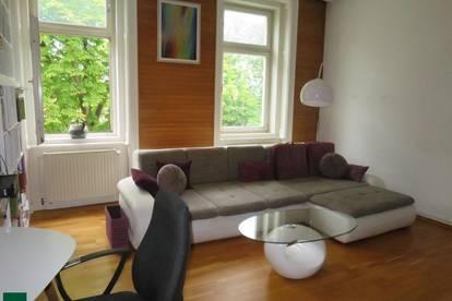 Interessante 3-Zimmer Altbauwohnung in Grünruhelage