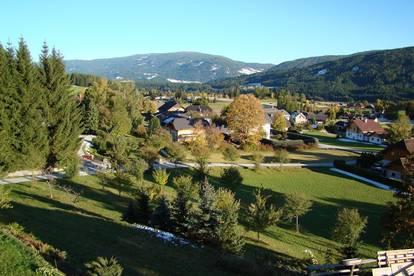 IDYLLISCH WOHNEN IM SONNENREICHSTEN ORT ÖSTERREICHS - TRAUMHAFTER AUSBLICK - BAUVORHABEN: Attraktive Wohnungen in Mariapfarr - Skigebiet Katschberg