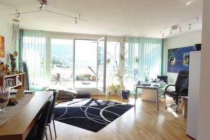 TRAUMHAFTER AUSBLICK - HERRLICHE SONNENLAGE - STADTZENTRUM - MIETE: Penthouse Maisonette - Wohnung in St. Johann im Pg - Ski amadé