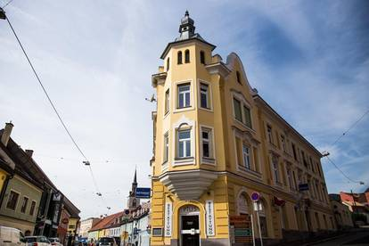Einzigartiges, sehr schönes Stilaltbaueckzinshaus in perfekter Innenstadtlage am Beginn der Fußgängerzone