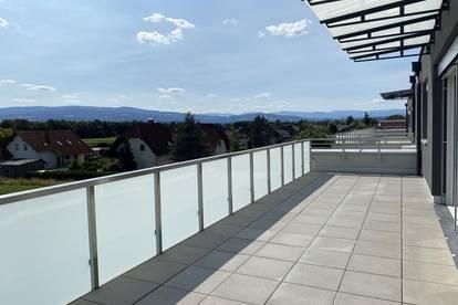 ERSTBEZUG! Exklusive, moderne 2-Zimmer-Penthousewohnung mit rund 32 m² großer Dachterrasse in Lieboch