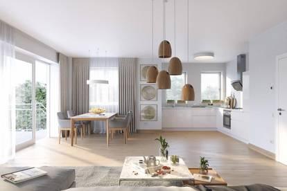 58 m² große 2-Zimmer-Wohnung mit perfekter Raumaufteilung und großem Eigenarten in Feldkirchen bei Graz