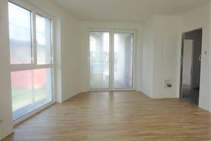 Sehr helle und moderne 2-Zimmer-Erstbezugswohnung mit Balkon und KFZ-Tiefgaragenabstellplatz