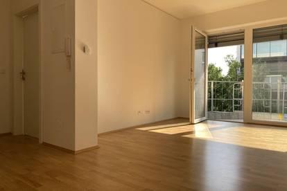 Erstbezug – Helle, moderne 2-Zimmer-Wohnung mit süd-westlichem Balkon in sehr zentraler Lage