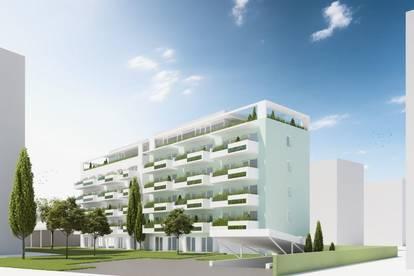 Erstbezug – Exklusive 3-Zimmer-Penthousewohnung mit Schlossbergblick