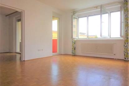 Helle, sanierte 2-Zimmer-Wohnung in Graz-Ragnitz mit sonniger Loggia