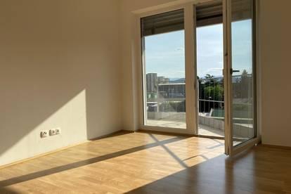 Erstbezug - Wunderschöne 2-Zimmer-Wohnung mit Balkon in sehr zentraler Lage