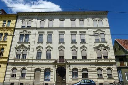 Anlageobjekt mit exklusiven, vermieteten Wohnungen im Jugendstilhaus und KFZ-Tiefgaragenabstellplätze in absoluter Bestlage, direkt gegenüber der Karl-Franzens-Universität