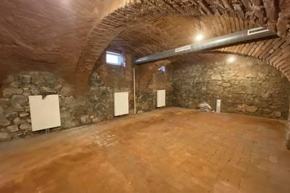 Vielerlei Nutzungsmöglichkeiten! Gewölbekeller in bester Innenstadtlage im Grazer Bezirk Jakomini