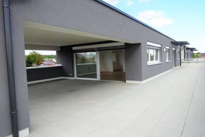 Exklusive 3-Zimmer-Penthousewohnung mit rund 110 m² großer Dachterrasse - Erstbezug