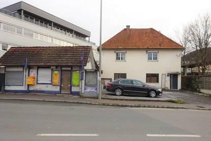 Ausgezeichnete Lage! Bestandsfreie Liegenschaft mit einer beträchtlichen Baureserve nahe dem Andritzer Hauptplatz