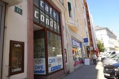 1.Bezirk Innere Stadt in Bestlage - Boutique-/Cafe-/Galerie-/Geschäftsfläche